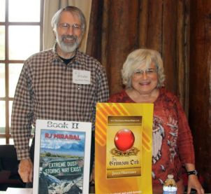 RJ and Joyce at Los Alamos Book Fair
